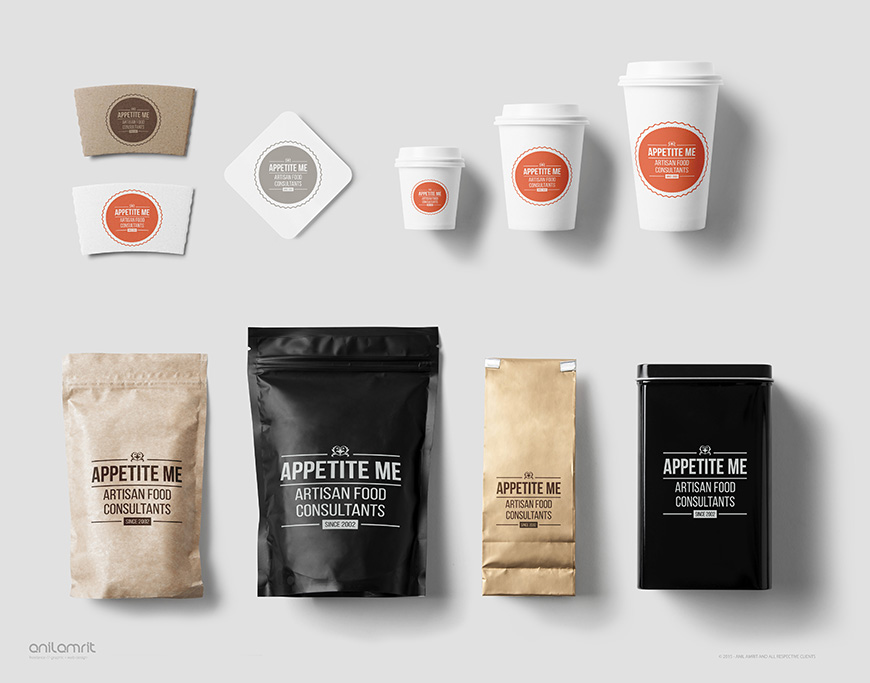 APPETITE ME BRANDING & PACKAGING