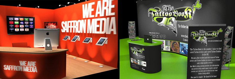 Exhibition stand design and exhibition graphics, Birmingham, West Midlands, London
