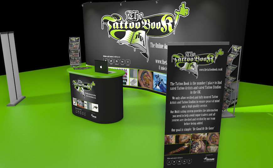 THE TATTOO BOOK BRANDING & EXHIBITION GRAPHICS