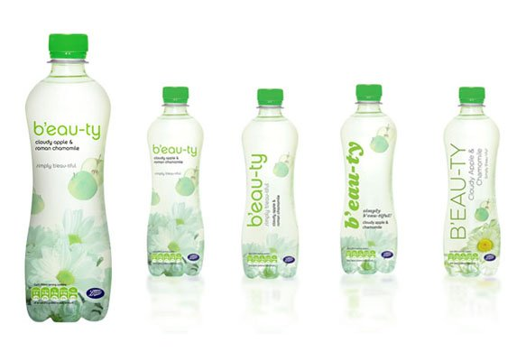 Beauty Bottled Water Branding