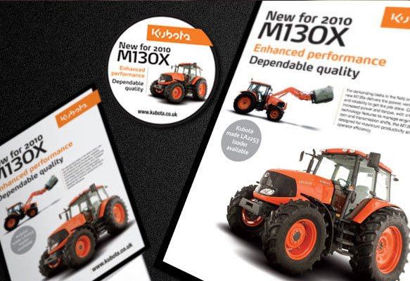 Kubota Marketing Suite Design