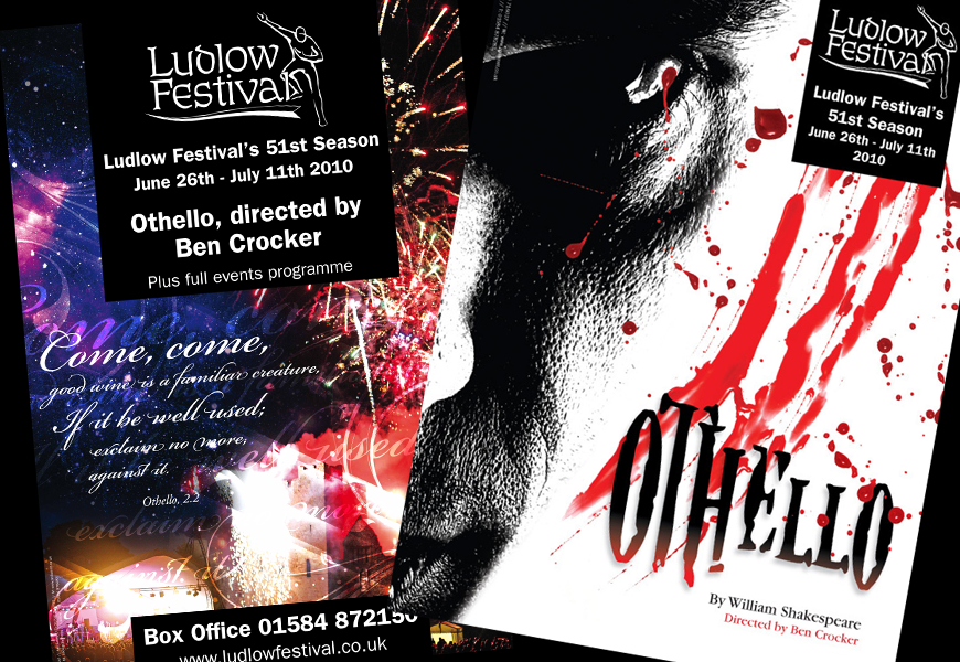 LUDLOW FESTIVAL POSTER DESIGNS