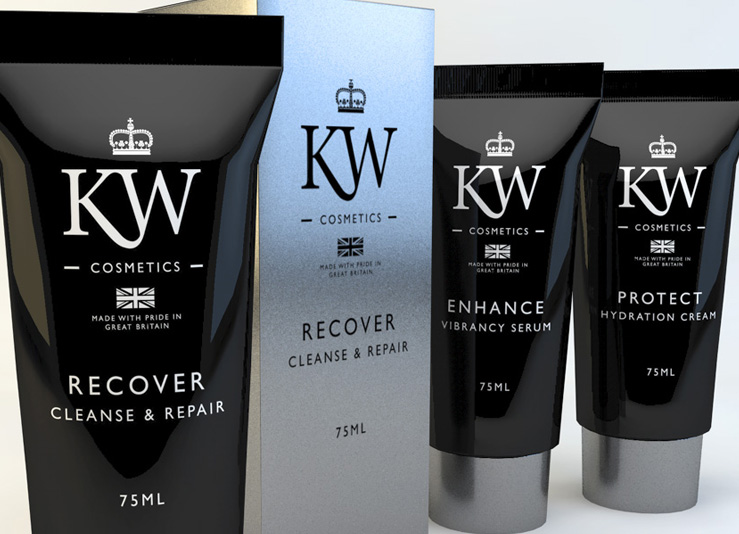 KW COSMETICS - FINAL PRODUCT RENDER